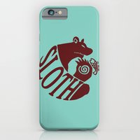 The Grizzly's Sin of Sloth iPhone 6 Slim Case