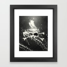 Hidden Lie Framed Art Print