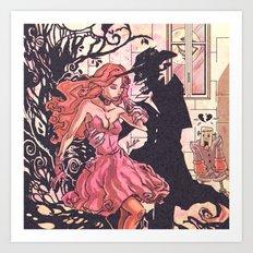 Halloween Temptation Art Print