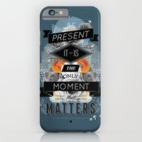 iPhone & iPod Case featuring The Present by Kavan and Co