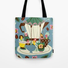 The Coffee Carousel Tote Bag