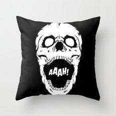 Say AAAH! Throw Pillow