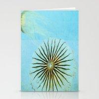Transparent-Sea Stationery Cards