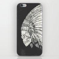 Indian Skull iPhone & iPod Skin