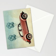take flight, VW Beetle Stationery Cards