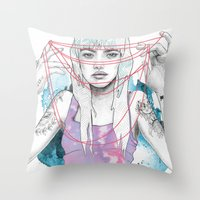 Cat's Cradle Throw Pillow
