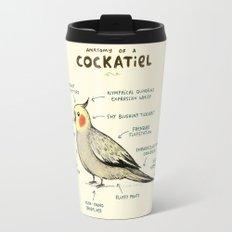 Anatomy of a Cockatiel Travel Mug