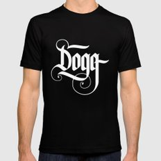 Dogg SMALL Black Mens Fitted Tee