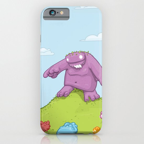 Marshmallow Hunting iPhone & iPod Case