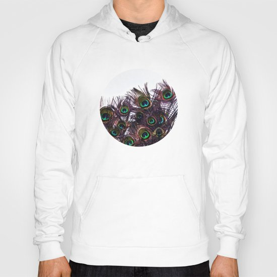 Peacock Feathers Hoody