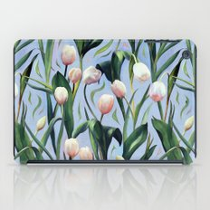 Waiting on the Blooming - a Tulip Pattern iPad Case