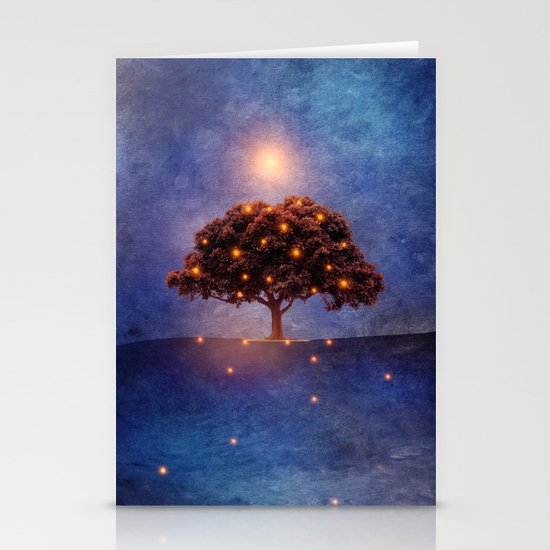 Energy & lights Stationery Card