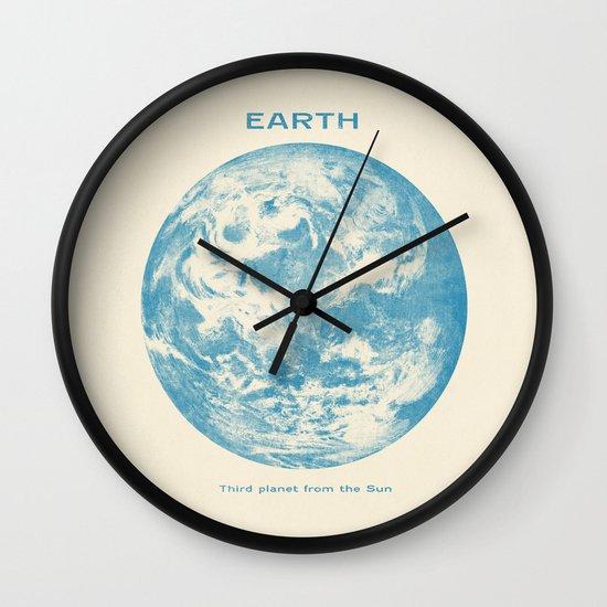 Third Planet  Wall Clock