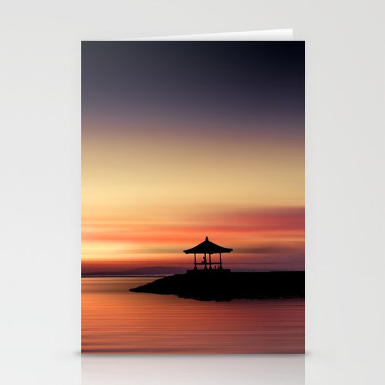 the silent sea Stationery Card