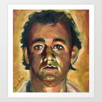 Peter Venkman, Ghostbust… Art Print
