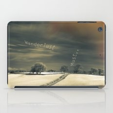 I Wander because... iPad Case