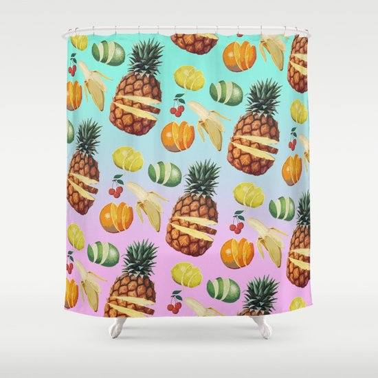 Fruit Ninja Shower Curtain