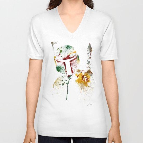 Bounty hunter V-neck T-shirt