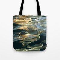 Water / H2O #42 (Water Abstract) Tote Bag