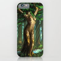 iPhone & iPod Case featuring Daphne's Metamorphosis by character undefined