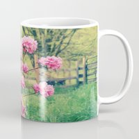 Pink Azalea Bushes Mug