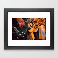 Jokers & Thieves Live At… Framed Art Print