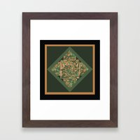 Chinese Lanterns DPA150510b Framed Art Print
