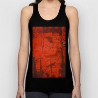 Red Roof Hatch Unisex Tank Top