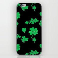 Irish Lucky Shamrock  iPhone & iPod Skin