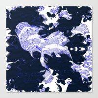 FISH PARADISE V7 Canvas Print