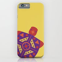 turtle iPhone & iPod Cases featuring Turtle by Claire Lordon