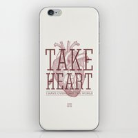 Take Heart iPhone & iPod Skin