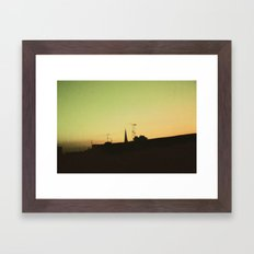 Derry Sky Framed Art Print
