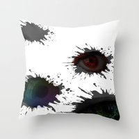 SEEING_EYES Throw Pillow