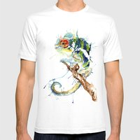 My Chameleon Mens Fitted Tee White SMALL