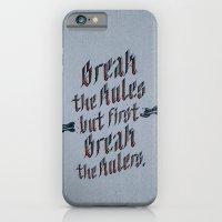 Break The Rules (variant… iPhone 6 Slim Case