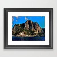 Amalfi Coast, Italy Framed Art Print