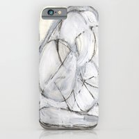iPhone & iPod Case featuring White by Erin McGuire Art