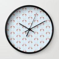 Flamingo / Flamenco  Wall Clock