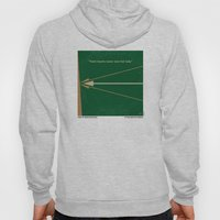 No237 My Robin Hood minimal movie poster Hoody