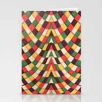 Rastafarian Tile Stationery Cards