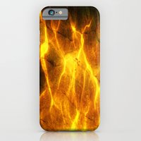 iPhone & iPod Case featuring Watery Flames by Freedomseeker
