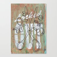 Locked Out? Get Some Mor… Canvas Print