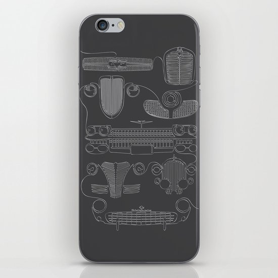 Classic Grills iPhone & iPod Skin