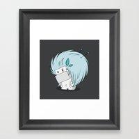 Floof Framed Art Print