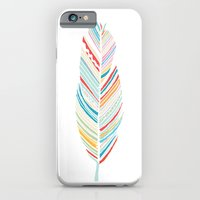 iPhone & iPod Case featuring Lone Feather by Morgana Lamson