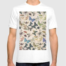 Insect Jungle Mens Fitted Tee White SMALL