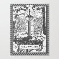 Legend Of Zelda Master S… Canvas Print