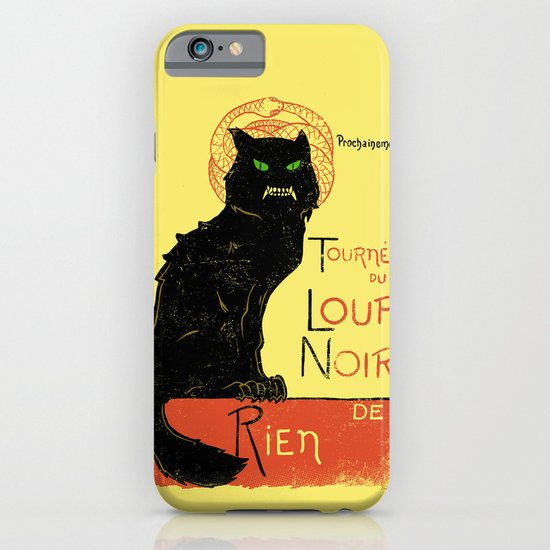 Loup Noir iPhone & iPod Case