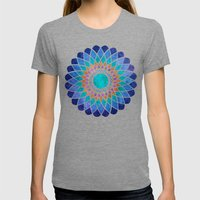 Chromatic Womens Fitted Tee Tri-Grey SMALL